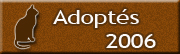 CHATS Adoptés en 2006