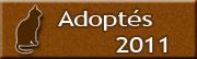CHATS Adoptés en 2011